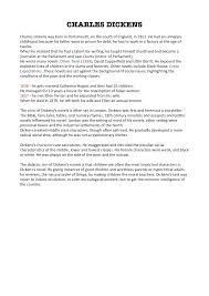 Dickens biografia, Oliver Twist trama e personaggi - Docsity