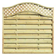 Grange Elite St Meloir Fence Panel 1 8 X 1 8m