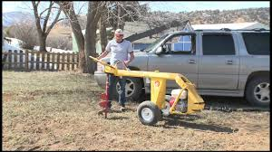 Target Rental Durango Groundhog Hd99 Post Hole Auger Youtube