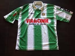 Rio Ave FC Home maglia di calcio 1997 - 1998.