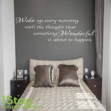 Wake Up Every Morning Wall Sticker Quote Home Lounge Wall Art Decal X138 Ebay