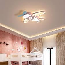 2020 New Design Plane Modern Led Ceiling Lights For Children Bedroom Boy Kids Room Led Ceiling Light Home Deco Ac90 260v Ceiling Lamp From Warriors007 97 68 Dhgate Com