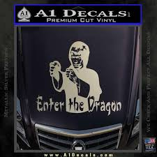 Bruce Lee Enter The Dragon Decal Sticker A1 Decals