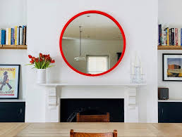 large round mirror omelo decorative