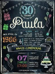 Convite 30 Anos Convite De Aniversario Boteco