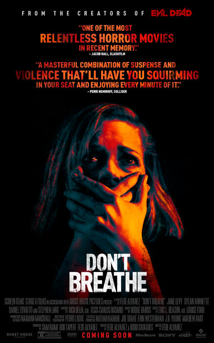 Download Don't Breathe (2016) (Hindi + English) Dual Audio | Bluray 480p 720p x264 / 1080p Hevc 10bit