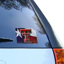 Texas Tech Red Raiders 5 75 X 4 5 Ultra Car Decal