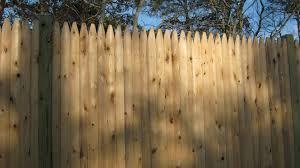 Cedar Stockade Panels Spaulding Fence Supply