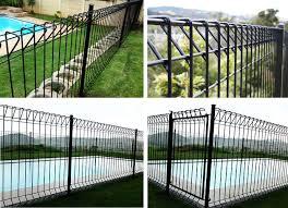 Brc Galvanised Steel Mesh Fence Panels Heavy Gauge Welded Wire Fence Panels