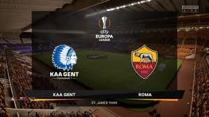 Gent vs Roma Full Match & Highlights UEFA Europa League