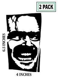 2 Pack Jack Nicholson Decals Sticker Vinyl The Shining Easy Rider Departed Ebay