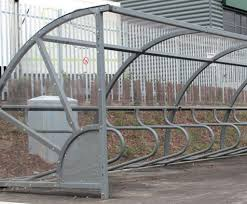 Circo Cycle Shelter With Integral Cycle Hoops Iae Fencing Esi External Works