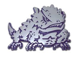 College Ncaa 4 And Up More Colors Tcu Horned Frogs Texas Logo Vinyl Decal Sticker Sports Mem Cards Fan Shop Cub Co Jp