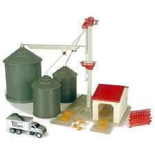John Deere Toy Grain Feed Elevator Playset Ertl 12924