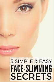 slim your face with makeup