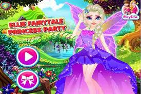 ellie fairytale princess make up games