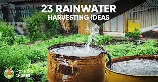 23 awesome diy rainwater harvesting
