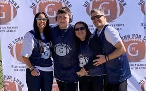 Go Long for Luke Goes Big for Autism Awareness - Atlanta Jewish Times