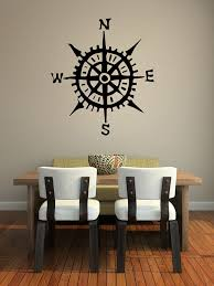 Compass Wall Decal Wall Star Graphics