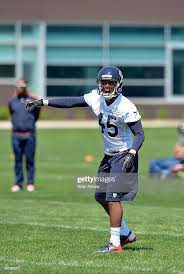 Safety Brock Vereen of the Chicago Bears yells during rookie minicamp...  News Photo - Getty Images