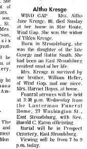 Althea Smith obituary - Newspapers.com