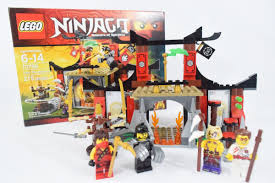 LEGO Ninjago Dojo Showdown 70756