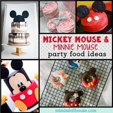 mickey mouse food ideas minnie mouse