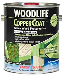 Rust Oleum 01901 Coppercoat Wood Preservative 0 88 Gallon Green Household Wood Stains Amazon Com