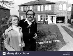 Actor James Beck of Dads Army fame seen here with his wife outside Stock  Photo - Alamy