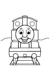 Thomas De Stoomlocomotief Kleurplaat With Images Train