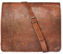15 leather messenger bag laptop case