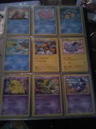 Pokemon Pikachu Card Album Collector Organizer 3 Ring Binder Trading Pro  Cards