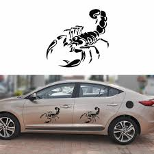 3d Cute Scorpion Car Sticker Creative Car Styling Vinyl Decal Stickers For Cars Accessories Sticker Home Decoration Wall Stickers Aliexpress