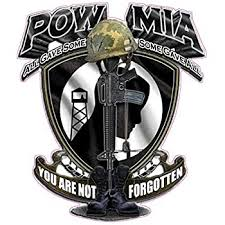 Amazon Com Nostalgia Decals Pow Mia You Are Not Forgotten Large Decal 10 X 9 From The United States Automotive