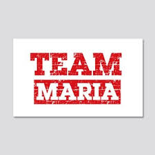 I Love Maria Wall Decals Cafepress