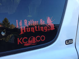 Idratherbehunting Kcco Fd Ecps Loving Life Available At Eastcoastpublicsafety Com Vinyl Sticker Vinyl Life