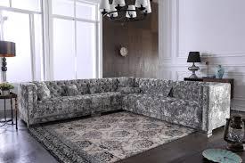 divani casa fredrick modern grey