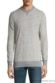 grey men sweater clothing faherty dual
