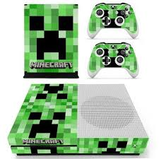 Minecraft Skin Decal For Xbox One S Console And 2 Controllers Xbox One S Xbox One Skin Xbox One