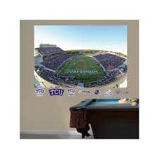 Fathead Tcu Horned Frogs Amon G Carter Stadium Wall Decals Multicolor Tcu Horned Frogs Frog Decor Wall Decals