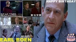 Earl Boen was born November 7, 1945. | Nerd News Now
