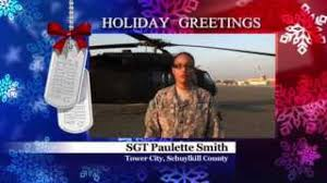 Military Greeting: Army SGT Paulette Smith | wnep.com