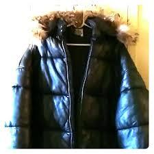 jackets coats leather bubble coat