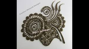 simple mehndi designs patches