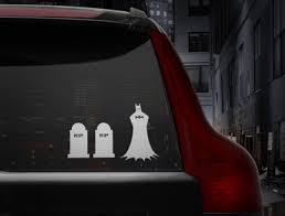 Batman Family Car Decals