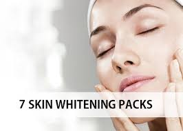 7 homemade skin whitening face pack and