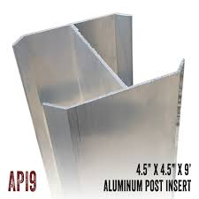 Aluminum Post Inserts Illusions Fence