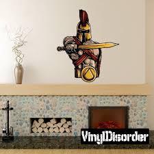 Greek God Spartan Trojan Wall Decal Vinyl Car Sticker Uscolor013 25 Inches Walmart Com Walmart Com