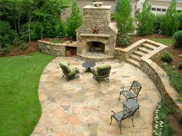flagstone patios