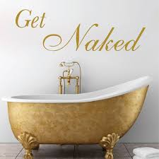 Get Naked Bathroom Wall Decals Bathtub Stickers Wall Applique Trendy Wall Designs